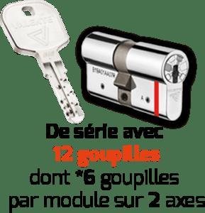 clés cylindres - EXTRASAFE