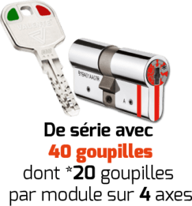 clés cylindres - MOBILE CODE 5