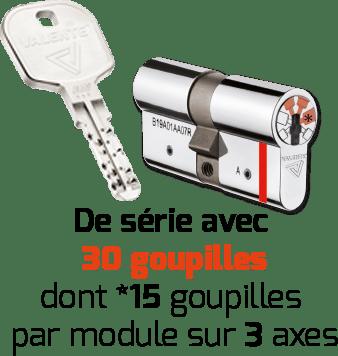 clés cylindres - PROSTAR